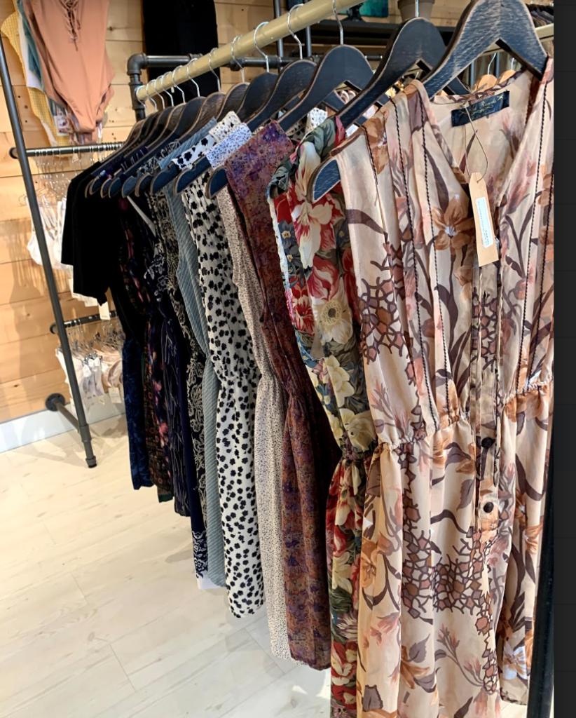 Stone Fox Vintage Women's Clothing Rack in Store Kelowna BC